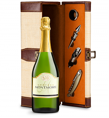 Wine Totes & Carriers: Chateau Montmore North Coast Brut Cuvee Wine Steward Luxury Caddy