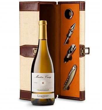 Wine Totes & Carriers: Martin Craig Luminist Russian River Chardonnay Luxury Wine Caddy
