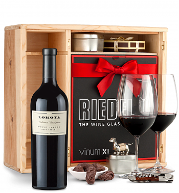 Wine Gift Boxes: Lokoya Mt. Veeder Cabernet Sauvignon 2011 Private Cellar Gift Set