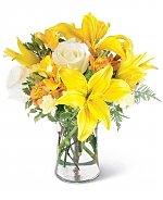 Flower Bouquets: Burst of Sunshine Bouquet