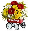 Flower Bouquets: Baby's First Wagon