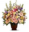 Funeral Flowers: Loving Grace Bouquet