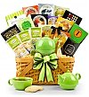 Coffee & Tea Gift Baskets: Traditional Teatime Holiday Basket
