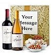 Wine Gift Boxes: Napa Valley Wine Duet with Personalized Gift Box