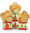 Gift Towers: Happy Holidays Cookie Trio
