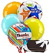 Balloons & Chocolate: Admin's Day Balloons & Chocolates-5 Mylar