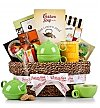-CSFTS: Traditional Tea Time Basket with Chicken Soup for the Tea Lover's Soul ®