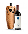 Premium Wine Baskets: Handmade Wooden Wine Vase with Opus One 2012