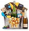 Wine Baskets: New Year's Elegance Champagne Gift Basket