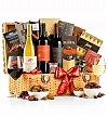 Wine Baskets: Christmas in the Country Wine Basket