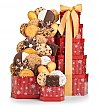 Cookie Gift Baskets: Winter Wishes Cookie Tower