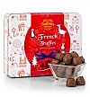 Chocolate & Sweet Baskets: Holiday French Truffle Tin