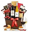Wine Baskets: First Impressions Holiday Wine & Chocolate Basket
