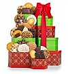 Gift Towers: Wintertime Treats Cookie Tower