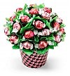 Chocolate & Sweet Baskets: BonBon Blooms™ Chocolate Garden Bouquet