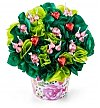Chocolate & Sweet Baskets: BonBon Blooms™ Hearts Bursting Bouquet