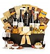 Wine Baskets: Gold Reserve Wine & Chocolate Collection