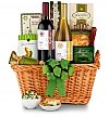 Wine Baskets: Food & Wine for Dad