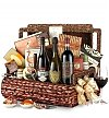Luxury Wine Baskets: Park Avenue Luxury Gift Basket