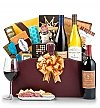 Luxury Wine Baskets: Wine and Food for Two Gift Basket