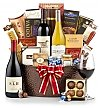 Luxury Wine Baskets: California Signature Wine Gift Basket