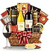 Wine Baskets: Classic California Wine Basket