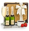 Champagne Gift Baskets: Champagne and Fondue Birthday Set
