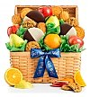 Fruit Baskets: Premium Grade Fruit and Cookies Basket