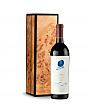 Wine Gift Boxes: Opus One 2013 in Handcrafted Burlwood Box