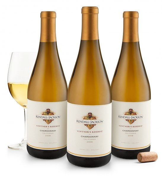 Wine Gift Boxes: Kendall Jackson Vintners Reserve Chardonnay
