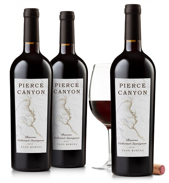 Wine Gift Boxes: Pierce Canyon Reserve Cabernet Sauvignon