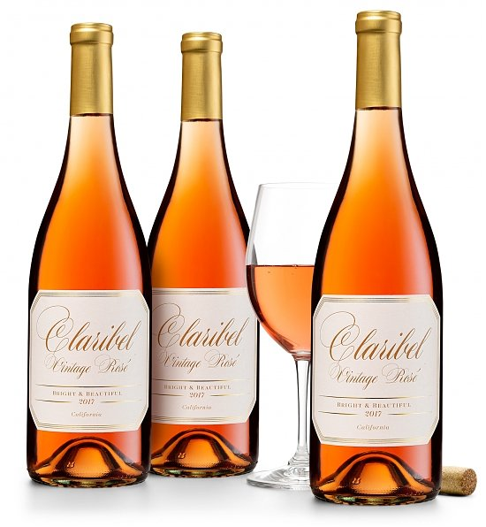 Wine Gift Boxes: Claribel Vintage Rosé