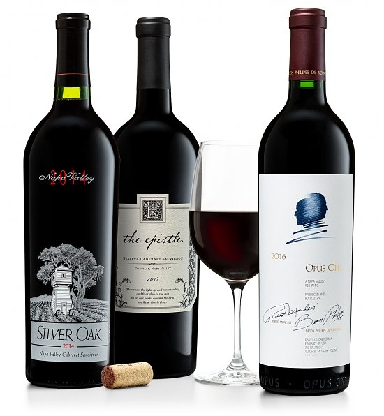 Wine Gift Boxes: Premium Napa Valley Cabernet Trio: Silver Oak, Opus One & The Epistle