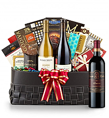 Luxury Wine Baskets: Leonetti Reserve Red 2006 -The Paramount Luxury Wine Basket