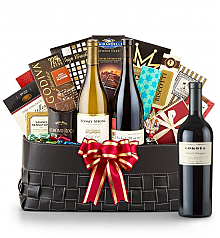 Luxury Wine Baskets: Lokoya Spring Mountain Cabernet Sauvignon 2007- The Paramount Luxury Wine Basket