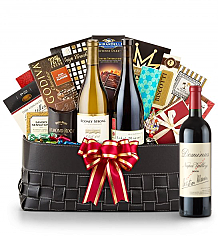 Luxury Wine Baskets:  Dominus Estate 2008- The Paramount Luxury Wine Basket