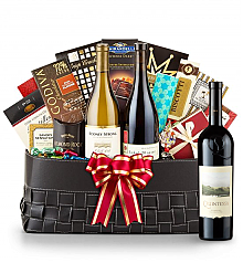 Luxury Wine Baskets: Quintessa Meritage Red 2010- The Paramount Luxury Wine Basket