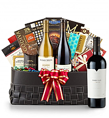 Luxury Wine Baskets: Merryvale Profile 2010- The Paramount Luxury Wine Basket