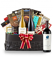 Luxury Wine Baskets: Opus One 2011- The Paramount Luxury Wine Basket