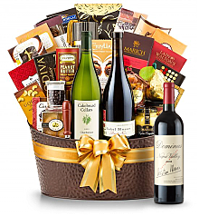 Premium Wine Baskets: The Hamptons Luxury Wine Basket-Dominus Estate 2009