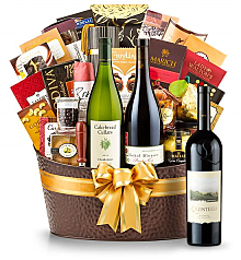 Premium Wine Baskets: The Hamptons Luxury Wine Basket- Quintessa Meritage Red 2010