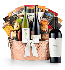 Premium Wine Baskets: The Hamptons Luxury Wine Basket-Merryvale Profile 2010