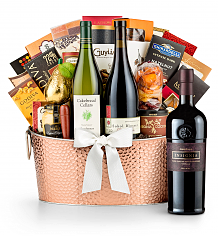 Premium Wine Baskets: The Hamptons Luxury Wine Basket- Joseph Phelps Insignia Red 2012