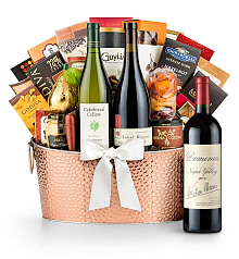 Premium Wine Baskets: The Hamptons Luxury Wine Basket-Dominus Estate 2012