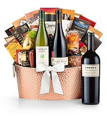 Premium Wine Baskets: The Hamptons Luxury Wine Basket-Lokoya Mt. Veeder Cabernet Sauvignon 2012