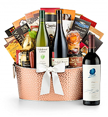 Premium Wine Baskets: The Hamptons Luxury Wine Basket-Opus One 2012
