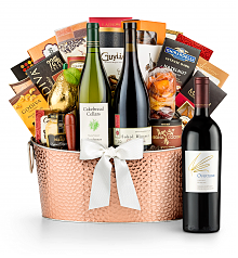 Premium Wine Baskets: The Hamptons Luxury Wine Basket-Opus One Overture