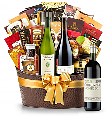 Premium Wine Baskets: The Hamptons Luxury Wine Basket-Ridge Monte Bello 2011