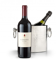 Wine Totes & Carriers: Luxury Wine Chiller with Verite La Joie Cabernet Sauvignon 2006