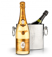Wine Totes & Carriers: Luxury Wine Chiller with Louis Roederer Cristal Brut 2005